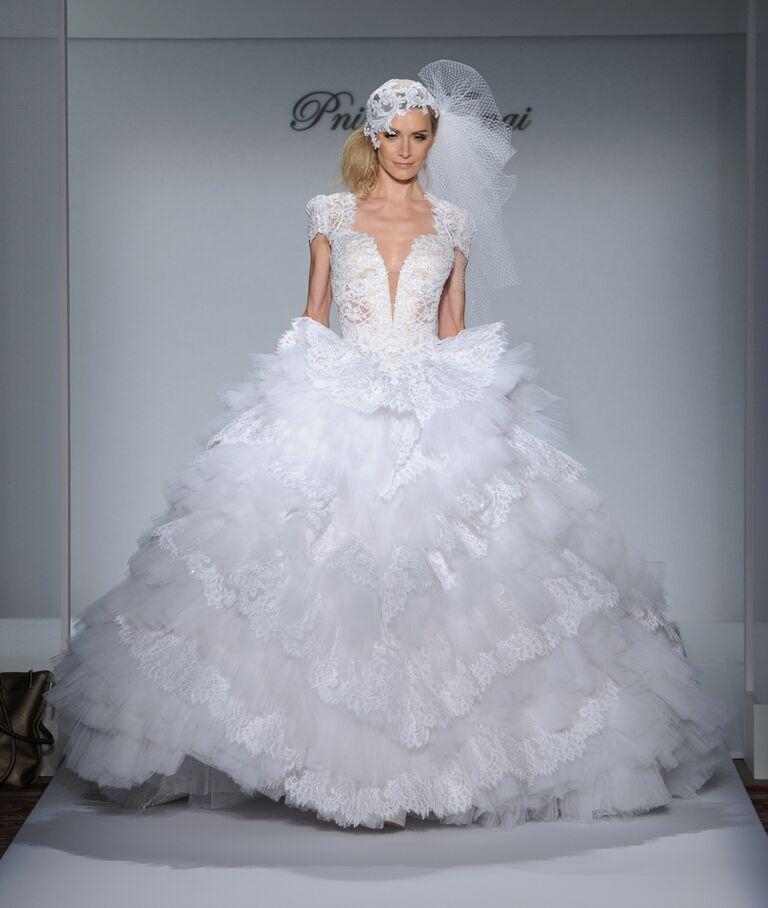 Wedding dress pnina