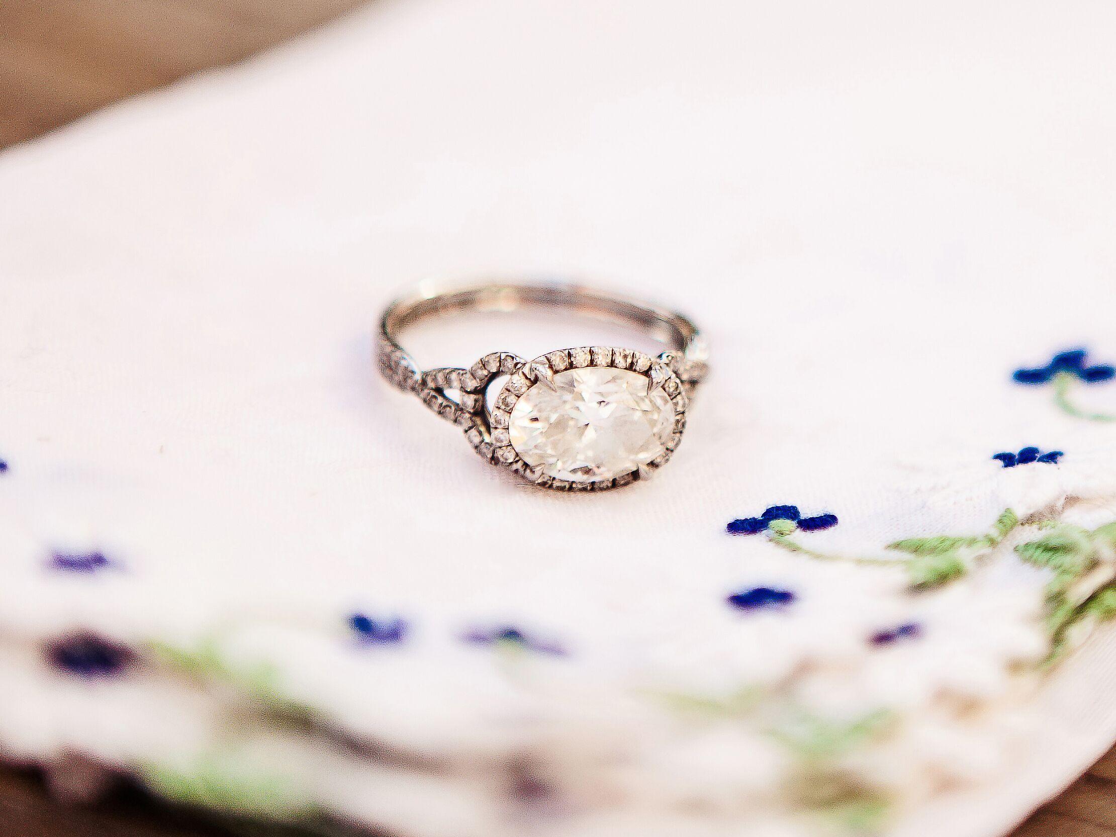 Diamonds & Gems: Resetting an Heirloom Stone