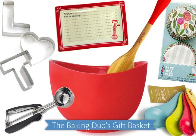 The Baking Duo's Gift Basket / The Knot