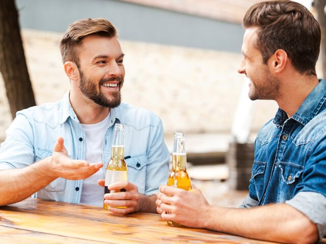 Image result for men talk with other guy