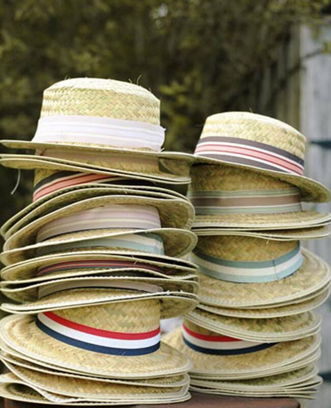 Straw Hats: Josh Goleman Photographer and Cinematographer / TheKnot.com