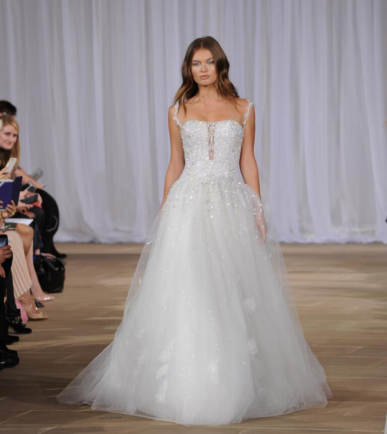 Di Santo Wedding Gowns: Ines Di Santo Fall 2016 Collection: Bridal Fashion Week Photos