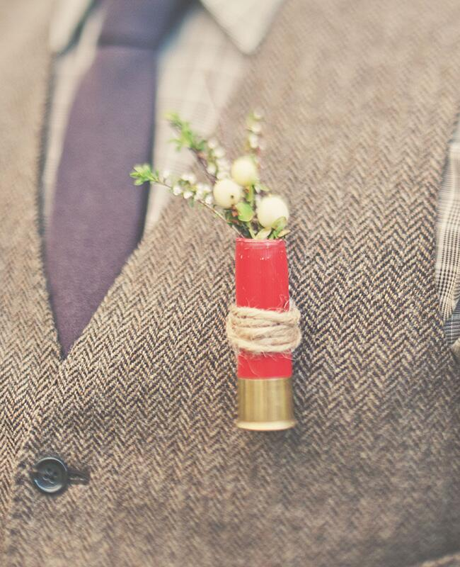 rustic boutonniere |<img class=