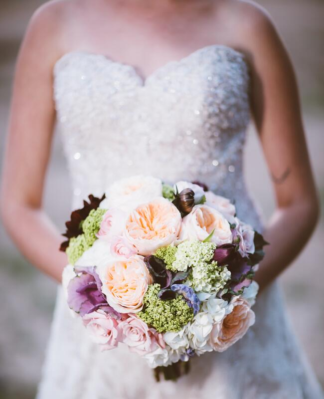 Glam Garden-Inspired Bridal Bouquet | Al Gawlik Photography | blog.TheKnot.com