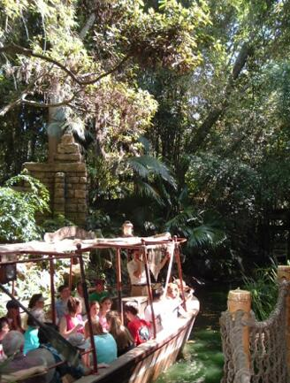 During the Jungle Cruise