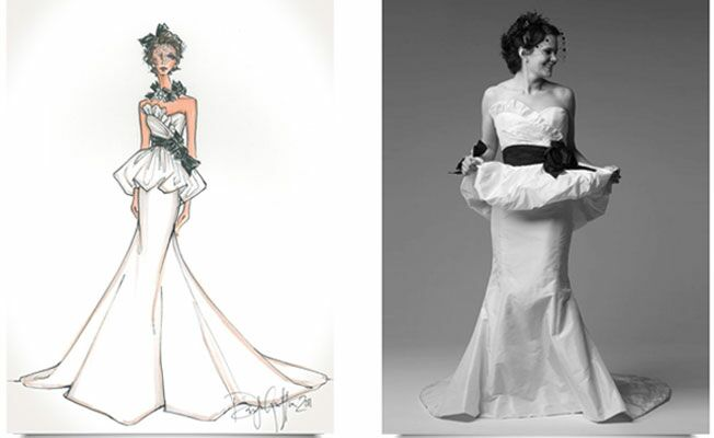 Fashion Find: Wedding Gown Sketches