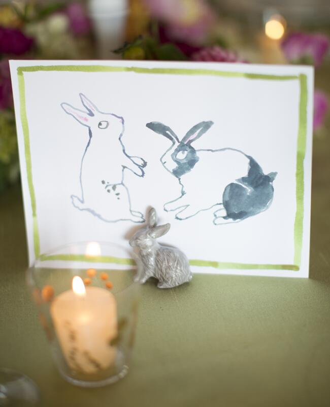 Bunny wedding inspiration: Patricia Lyons Photography / TheKnot.com