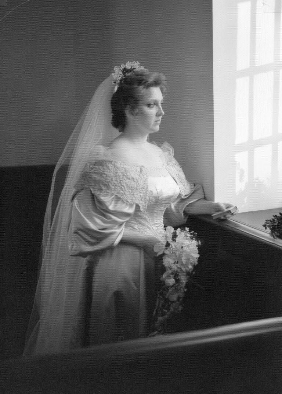 Janet Kearns Daigle wedding dress from 1982