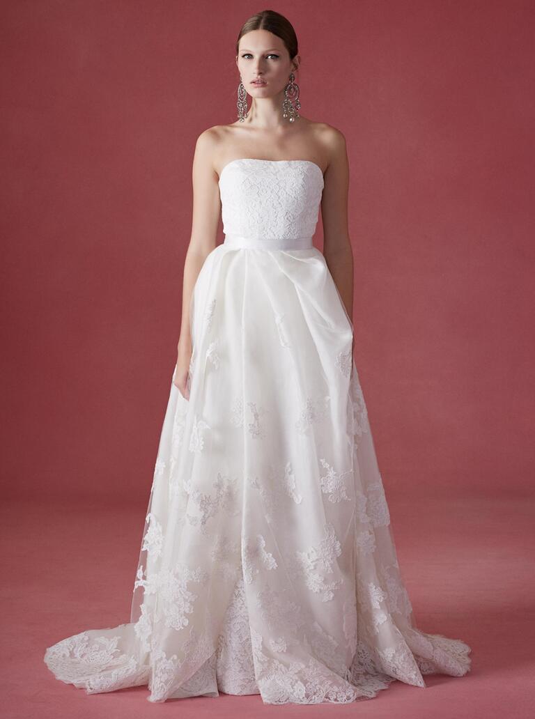 Oscar De La Renta Fall 2016 Collection Wedding Dress Photos