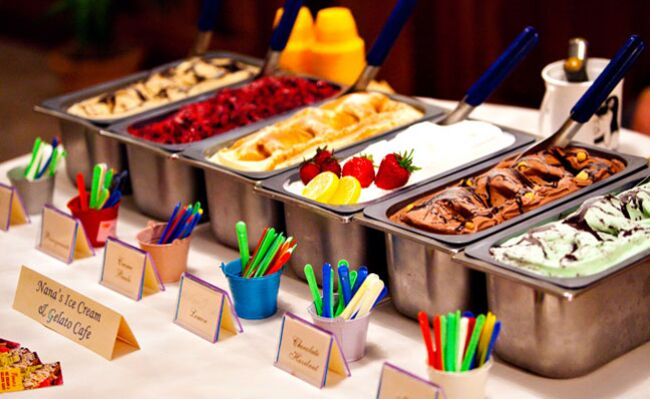 8 wedding dessert bar ideas gelato dessert bar junglespirit Images