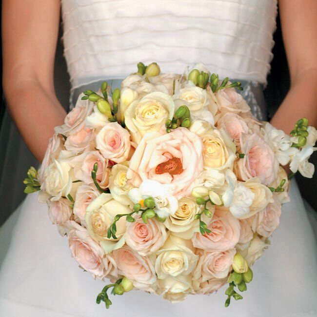 Wedding Flowers By Annette: Annette & Enrique: A Traditional Wedding In Fisher Island, FL