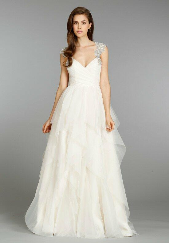 Hayley paige 6350 carrie wedding dress the knot for Hayley paige wedding dresses cost