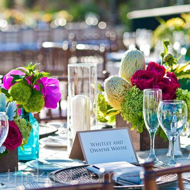 Casual Outdoor Wedding Reception Ideas: A Casual Outdoor Wedding In Malibu, CA