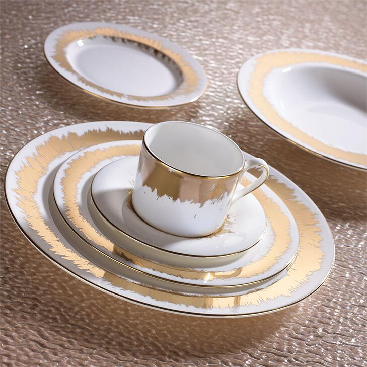 Lenox gold dinnerware