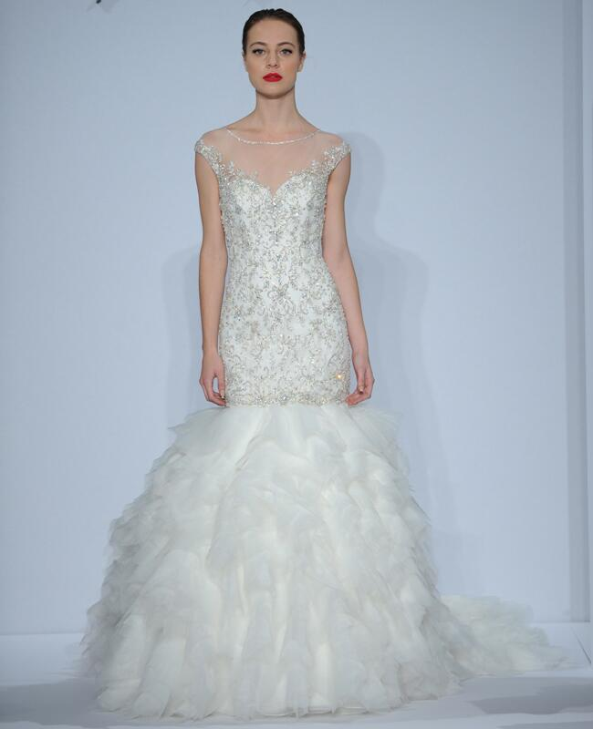 Dennis Basso Wedding Dresses Spring 2014