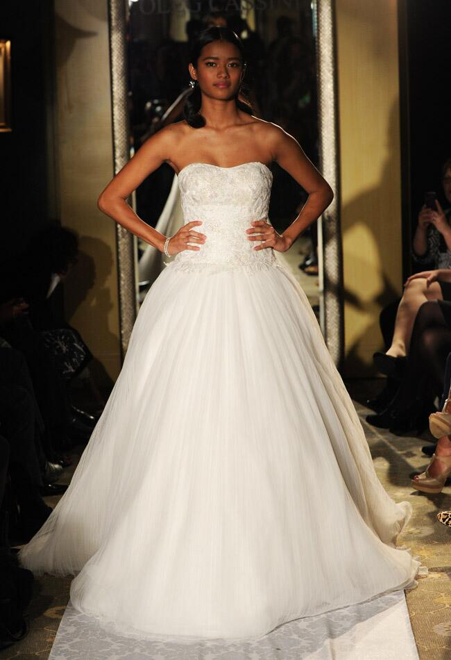 Oleg Cassini Fall 2014 | Kurt Wilberding | The Knot Blog