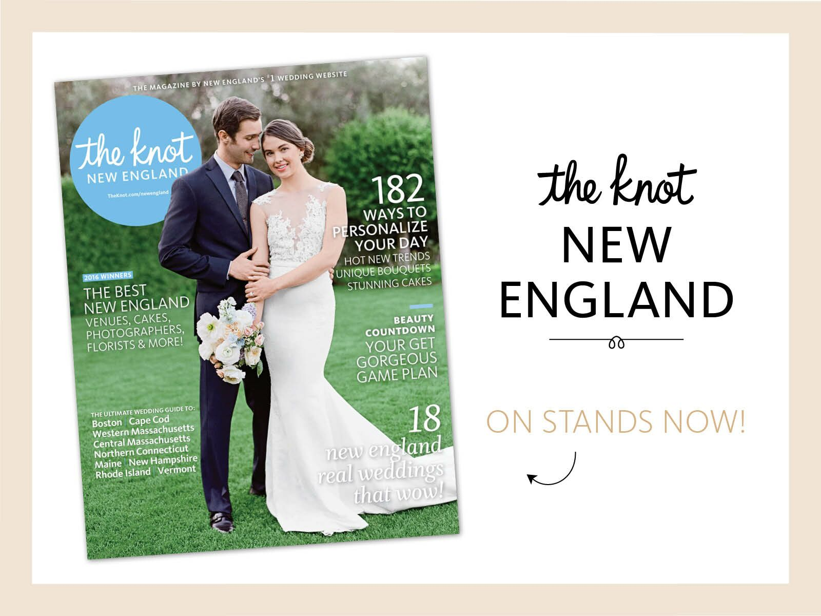 The Knot New England Magazine Is Now On Newsstands!