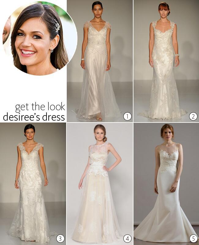 Desiree Hartsock wedding dress look alikes