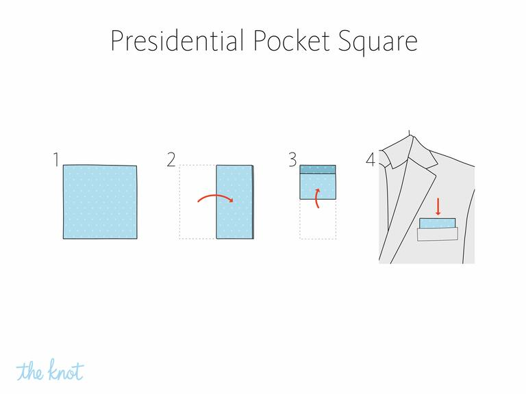 MIKOLO - How to fold a presidential pocket square
