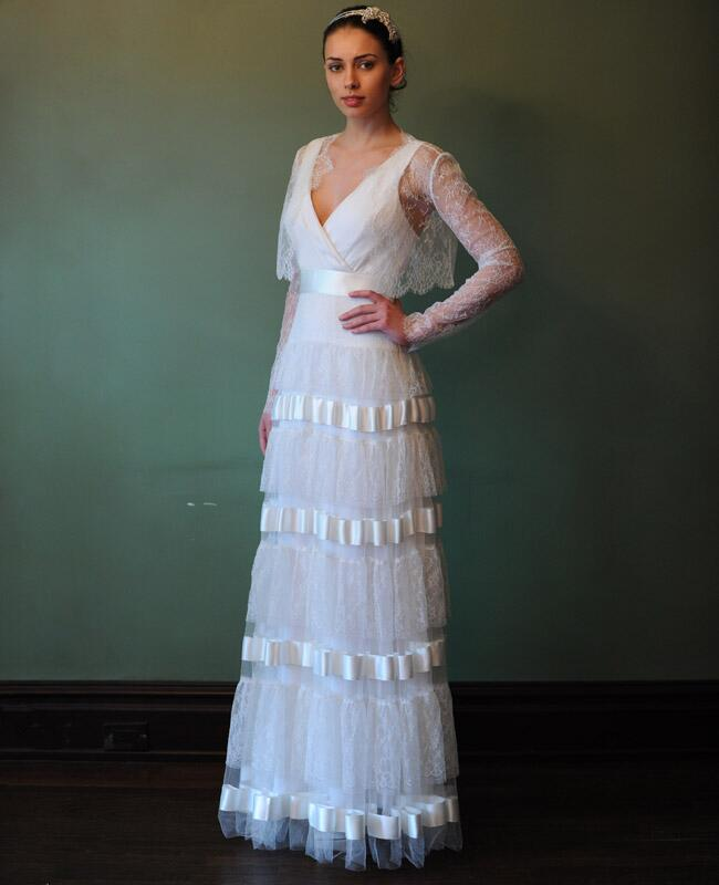 Temperley London//Photo by Kurt Wilberding//The Knot