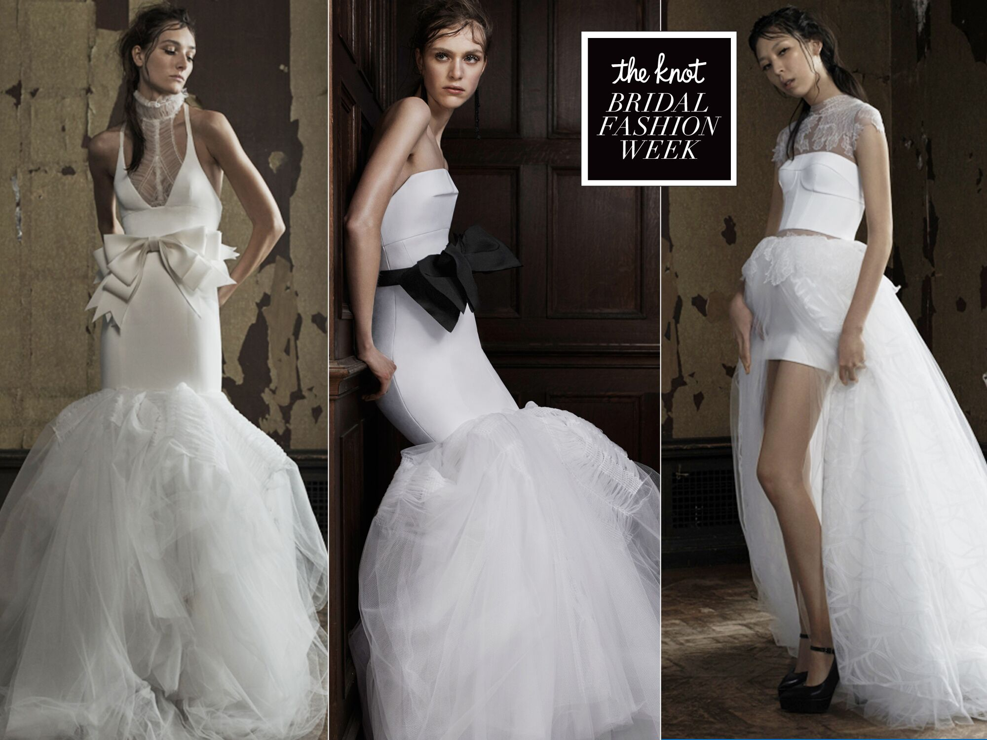 See Vera Wangs Slightly Grungy Latest Bridal Collection recommendations