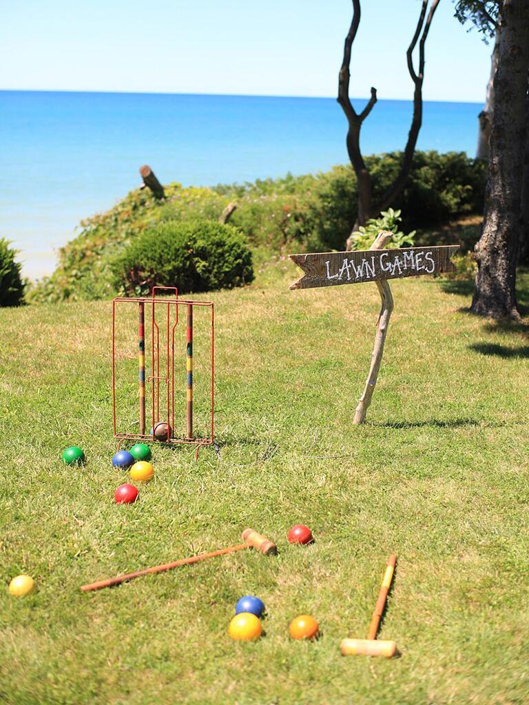 Lawn croquet game idea