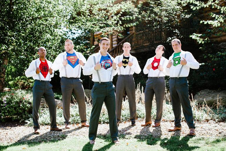 Superhero Photo | The Brand Studio | Blog.theknot.com