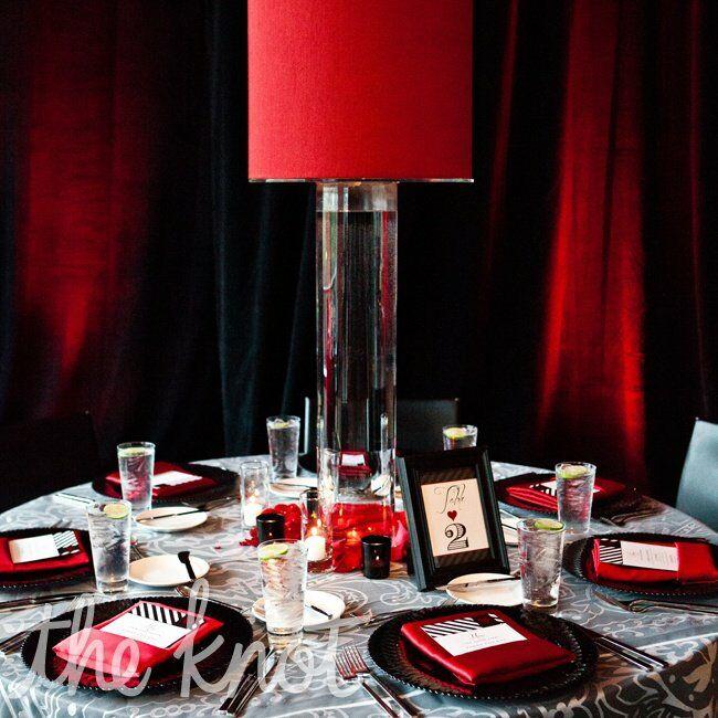 Red Wedding Ideas Reception: Red Wedding Reception