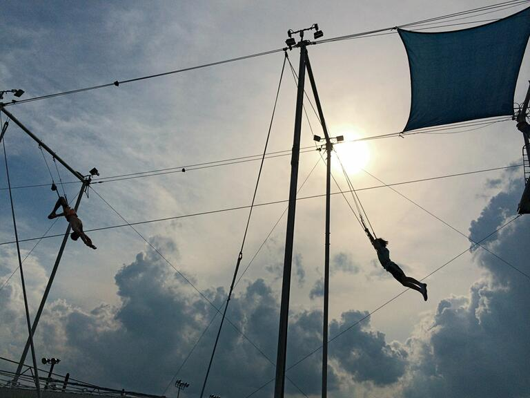 Trapeze School group fitness classes