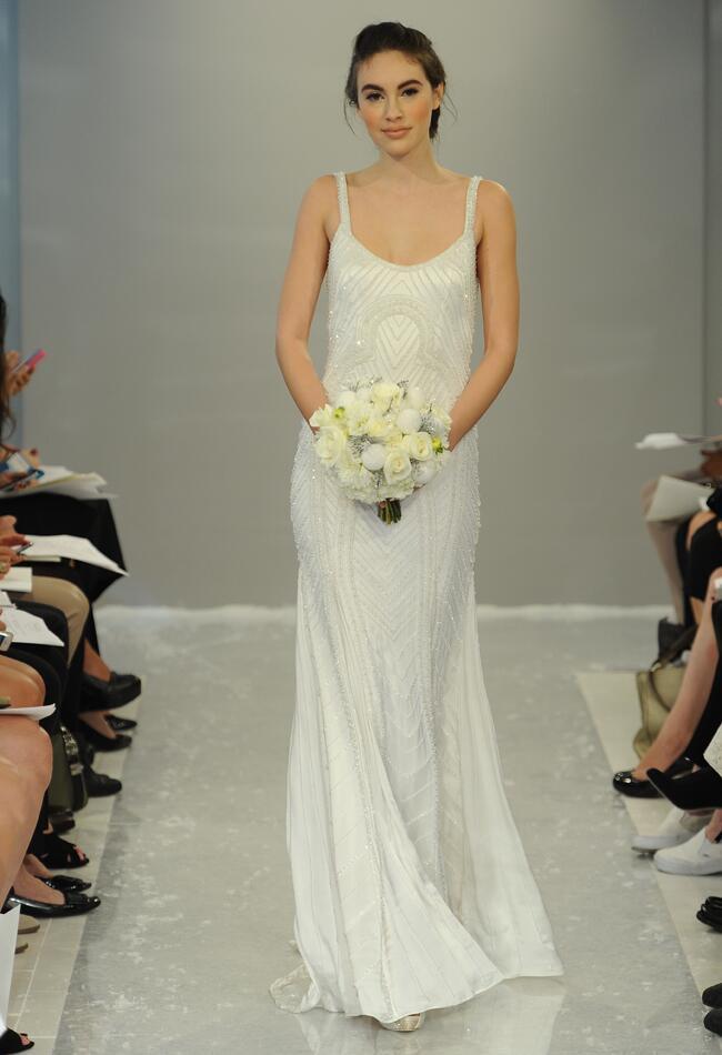 Theia Wedding Dresses Fall 2015 | Maria Valentino/MCV Photo | blog.theknot.com