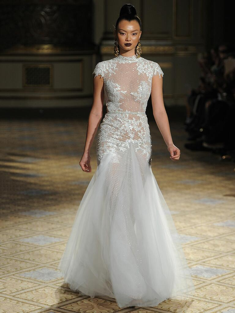 Berta spring summer 2018 collection bridal fashion week for Summer wedding dresses with sleeves