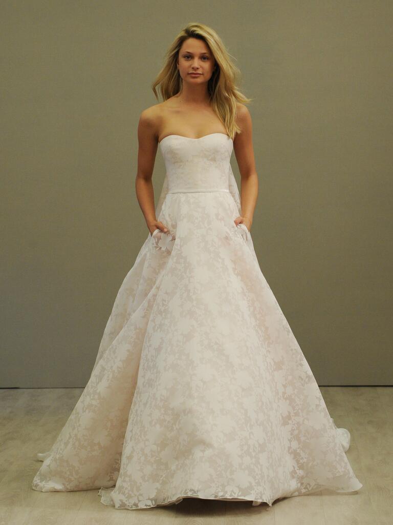 Jim Hjelm Spring Wedding Dresses: Bridal Fashion Week Photos