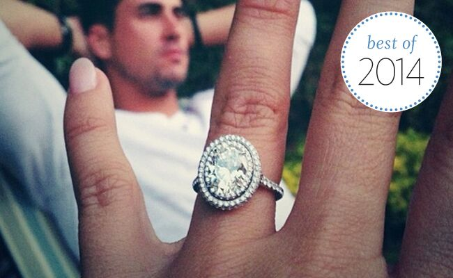 Best celebrity engagement ring trends of 2014 see the wedding rings junglespirit