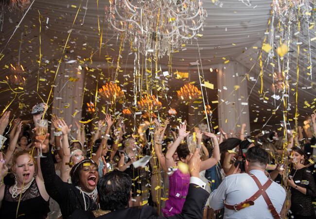 Dance Floor Confetti // Photo: Carla Ten Eyck