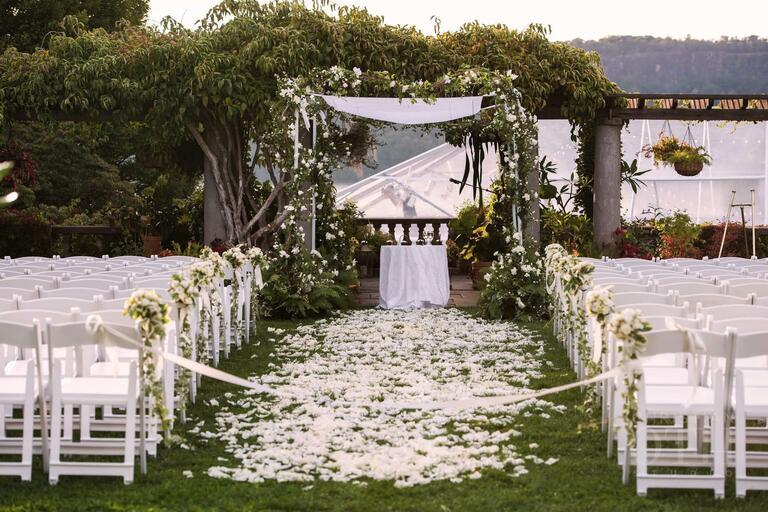 Ron Wendt wedding design