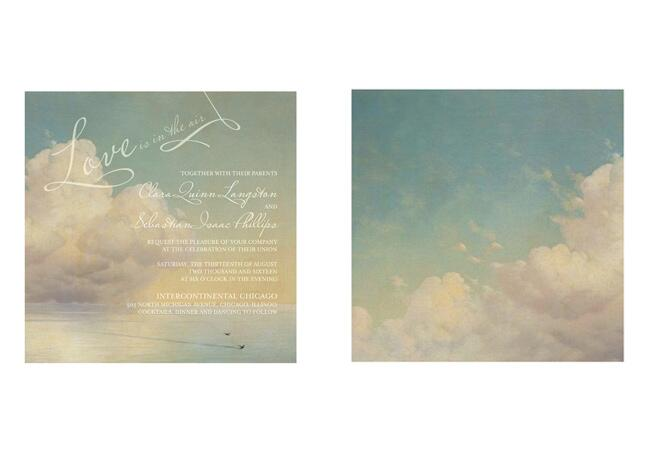Dreamy New Invitations From Claire Pettibone for Wedding Paper Divas