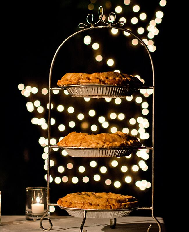 Long Island Pie: W Studios New York / TheKnot.com