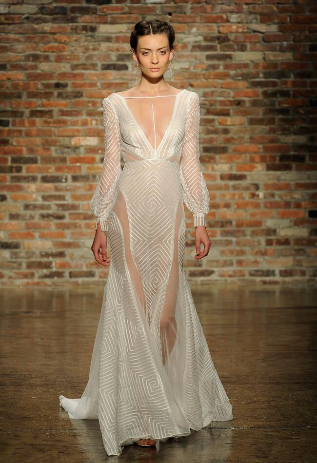 Jaw-dropping Wedding Dresses from New York Bridal Fashion Week!