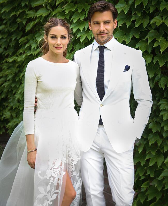 Olivia Palermo and Johannes Huebl: Johannes Huebl / TheKnot.com
