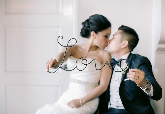 Bride & Groom Portrait | Kevin Le Vu Photography| From: Blog.TheKnot.com