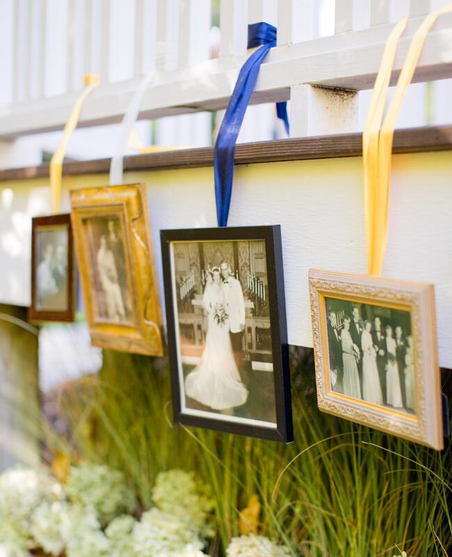 DIY ribbon wedding decor: Harrison Studio / TheKnot.com