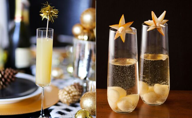 10 champagne cocktails perfect for new years eve