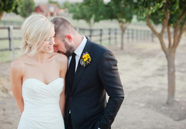 From: Jillian & Ian's Sunflower-Filled Wedding // Photographed by: Meagan Ramirez at The Collective Photographers
