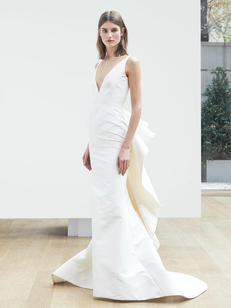 Oscar de la renta spring 2018 collection bridal fashion for Wedding dresses in louisiana