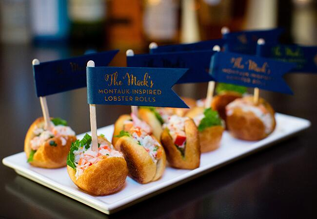 Wedding lobster rolls |<img class=