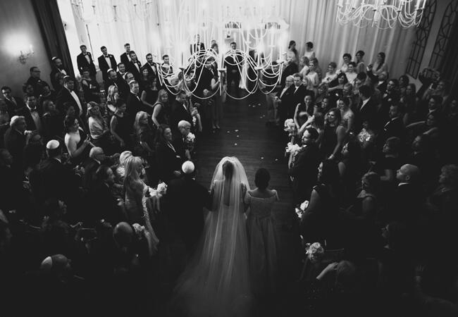 traditional Jewish ceremony | Lime Green Photography | blog.theknot.com