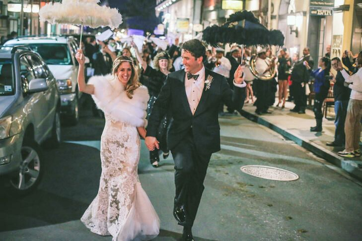 A New Orleans Traditional Wedding With a Second Line!