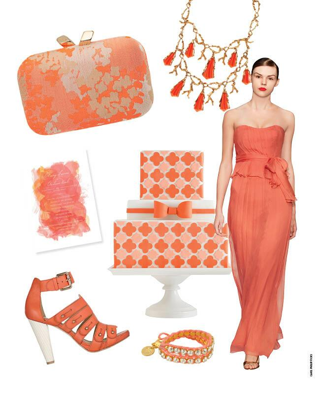7 Coral Wedding Ideas //  Featured: The Knot Blog