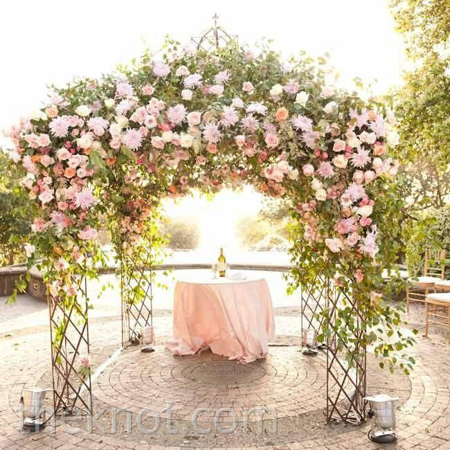 A Romantic Outdoor Wedding In San Antonio, TX