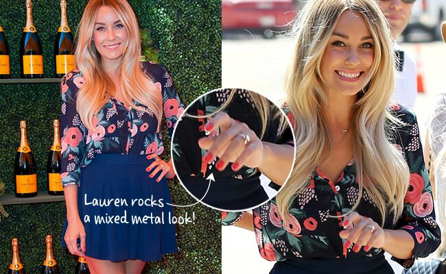 lauren conrad flashes her wedding band - Lauren Conrad Wedding Ring